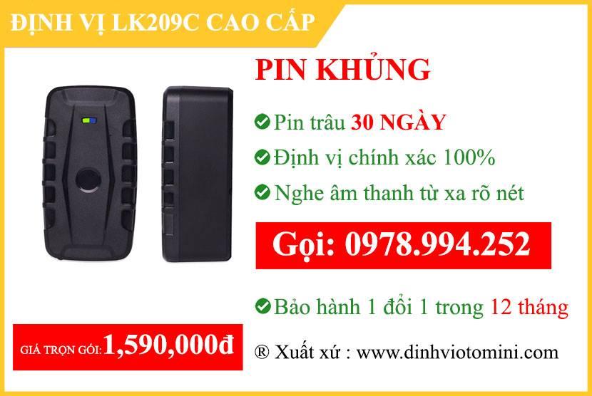 Định vị không dây LK209C